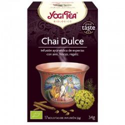 YOGI TEA CHAI DULCE 17 filtros