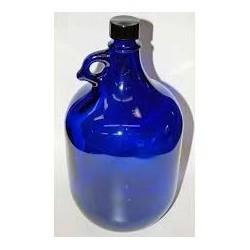 garrafa vidrio tipo murano...