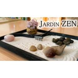 jardín zen japonés de arena