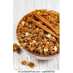 crunchy granola Manzana...