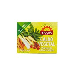 CUBITOS CALDO vegetal 6*100