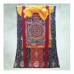 Thangka tibetana  Mandala...