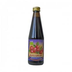 zumo arándanos rojos bio