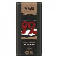 chocolate negro 92% con...